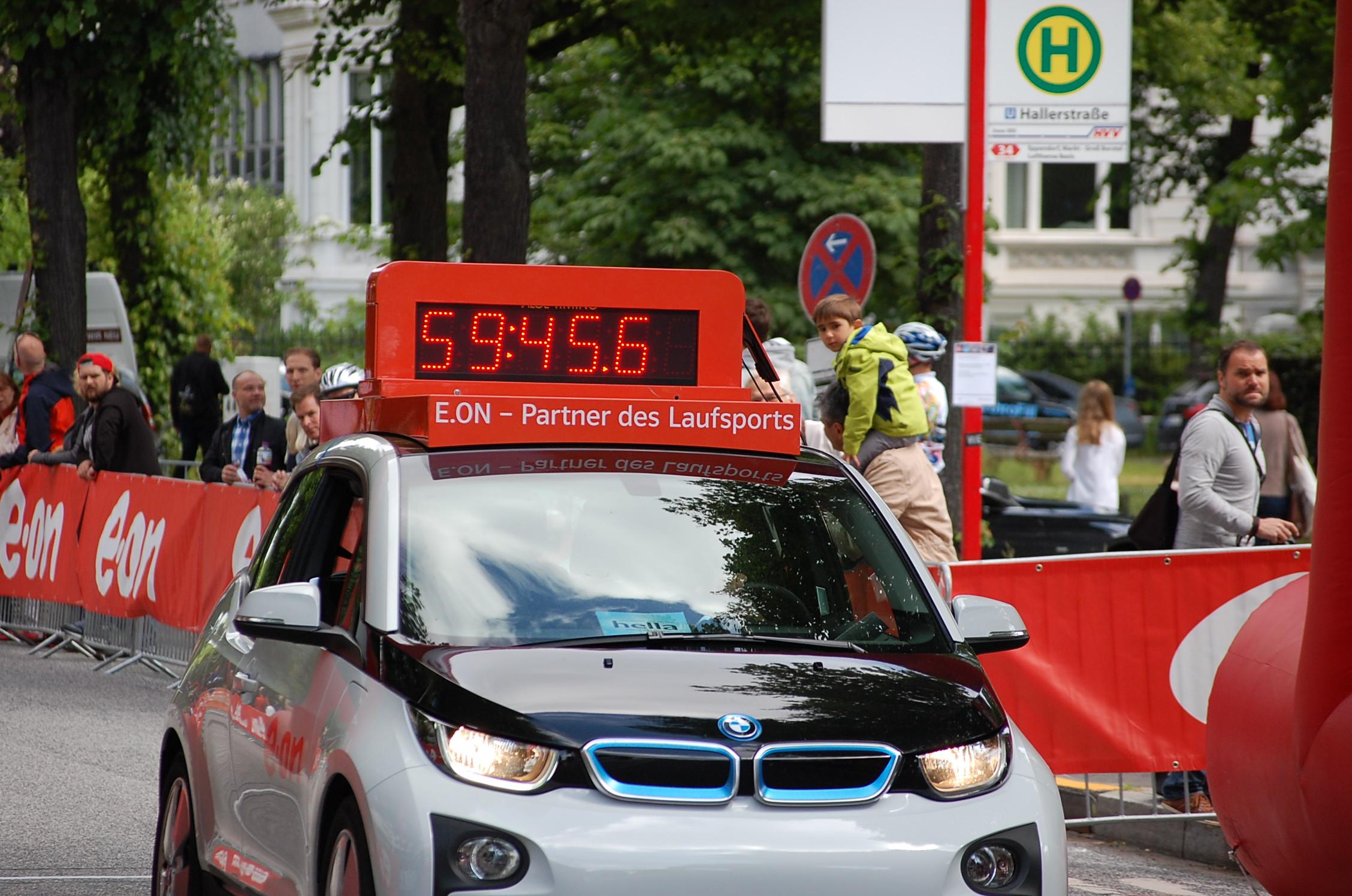 21. hella Halbmarathon: Zieleinläufe bis 1:30
